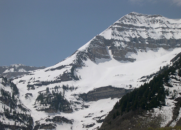 East Ridge of Mount Timpanogos - she's calling to you too!